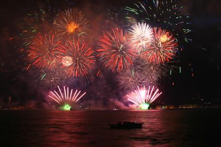 fireworks Stock Photo - 38783389