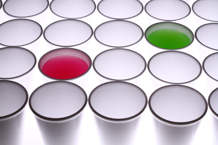 Disposable cups background Stock Photo - 38783545