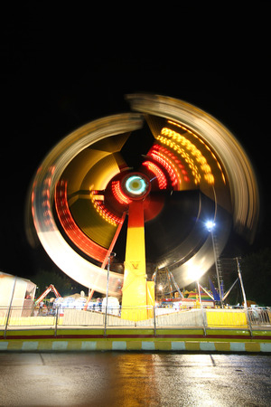 Ferris Wheel at night Stock Photo - 38783544