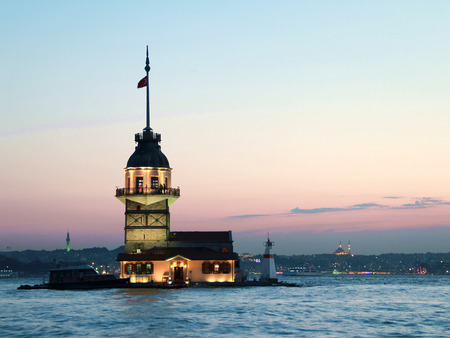 The Maidens Tower in Istanbul