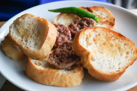 Meatball ( kofte), Turkish cuisine Stock Photo