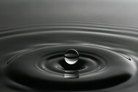Droplet of water from a splash