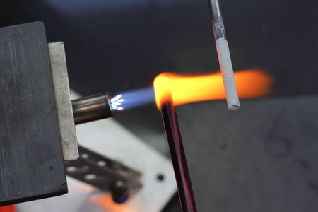 tools for glass melting