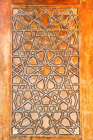 traditional Turkish wooden background