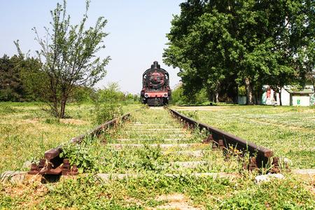 Dead end, Railroad tracks