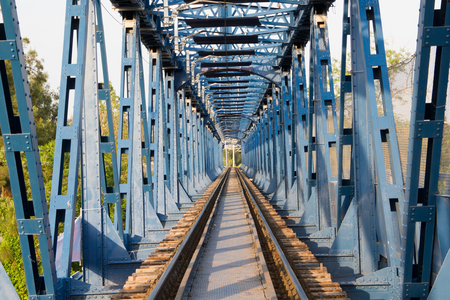 old rail way bridge vintage
