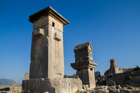 historical places at Turkey Stock Photo