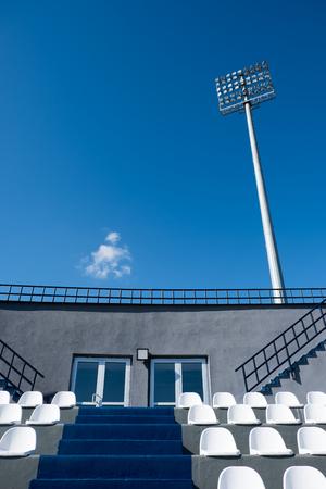 contemporary stadium seat light and tracks