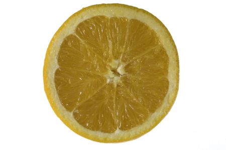 core, essence, pith and rind of a citrus fruit Stock Photo - 2247744