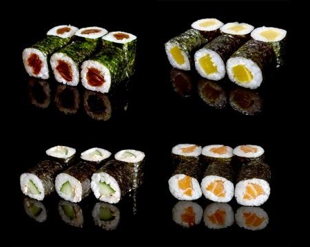 maki sushi set 版權商用圖片