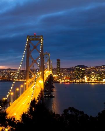 Bay Bridge, San Francisco California photo