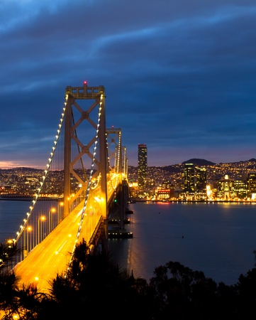 san francisco bay: Bay Bridge, San Francisco California