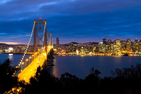 Bay Bridge, San Francisco California Stock Photo - 12942560