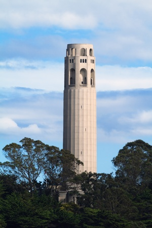 coit tower: Coit Tower Stock Photo
