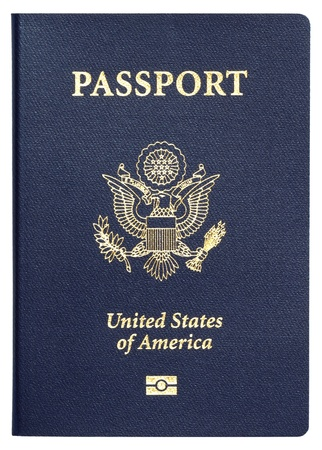passeport: Passeport am�ricain Banque d'images
