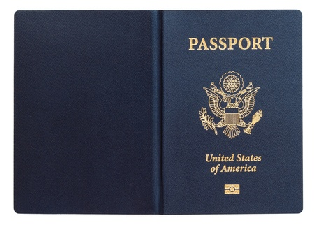 US passport Stock fotó - 12942590