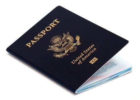 米国のパスポート 写真素材 - 12942327