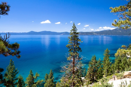 nevada: Lake Tahoe Stock Photo