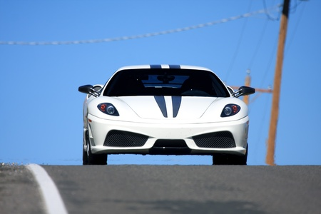 ferrari: sports car Editorial