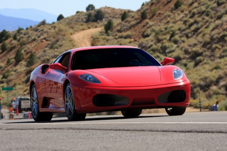 ferrari: sports car Editorial