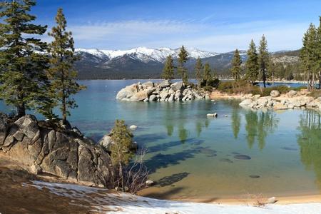 nevada: Lake Tahoe Stock Photo