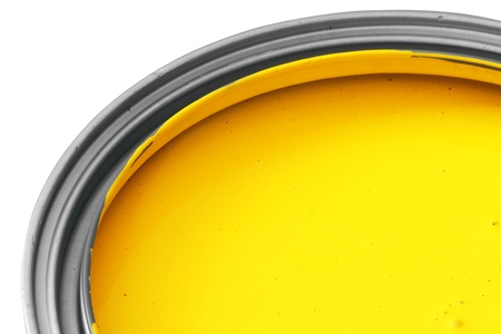 yellow paint photo