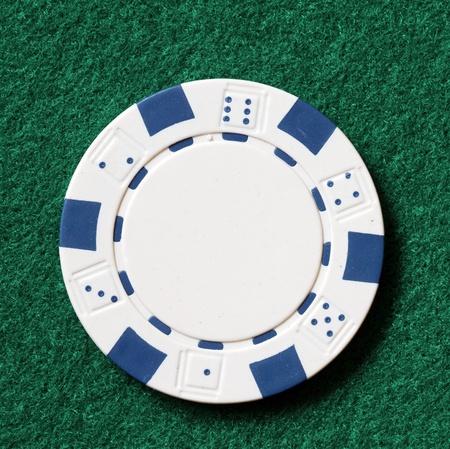 white poker chip photo