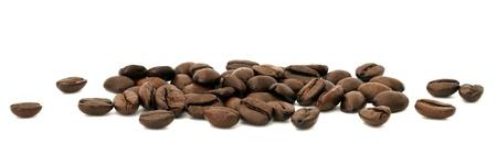 alubias: granos de café Foto de archivo