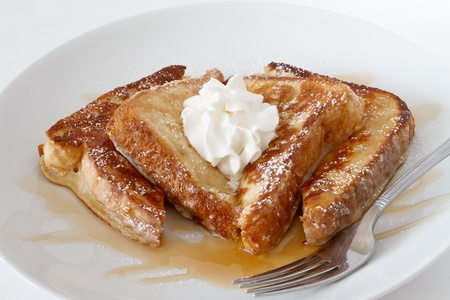 french toast with butter  photo