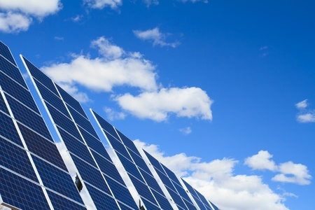 solar panels photo
