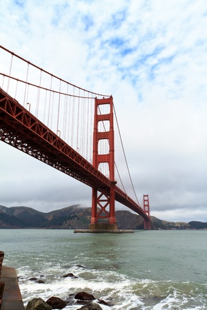 ocean view: Golden Gate, San Francisco California