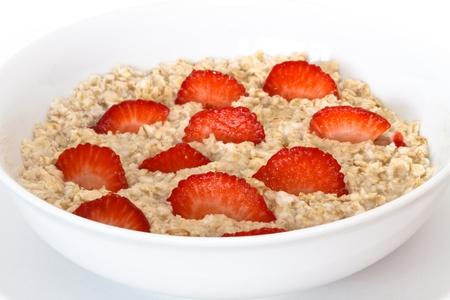 oatmeal: oatmeal with strawberries