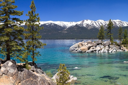 lake shore: Sand Harbor, Lake Tahoe