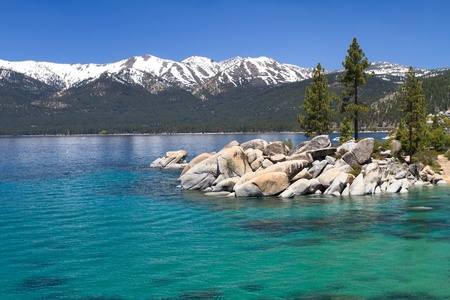 sierra nevada mountains: Sand Harbor, Lake Tahoe