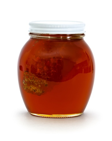 jar of honey Stock Photo - 13328746