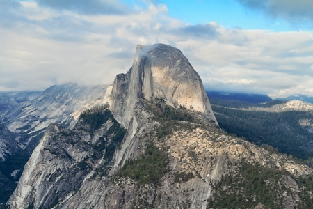 Half Dome from Glacier Point, Yosemite National Park Stock Photo - 13328768