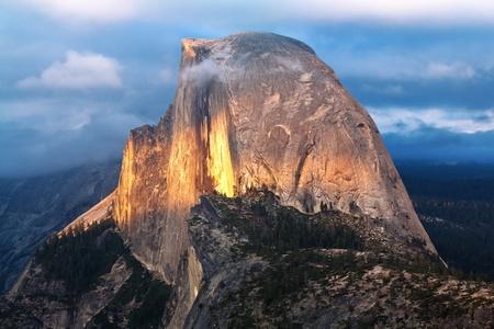 Half Dome, Yosemite National Park Stock Photo