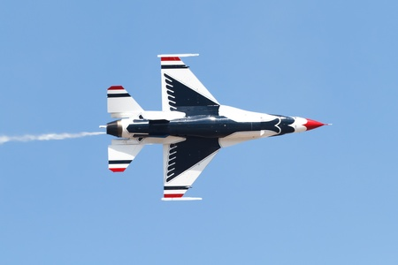 Air Force Demonstration Team Thunderbirds Stock Photo - 13372703