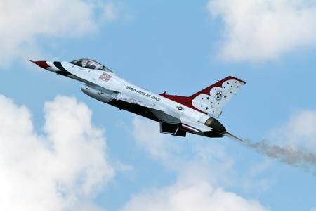 air show: Air Force Demonstration Team Thunderbirds