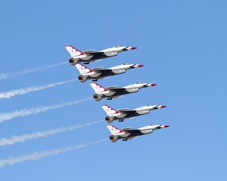 deterrence: Air Force Demonstration Team Thunderbirds