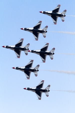 avion de chasse: Air Thunderbirds la Force équipe de démonstration
