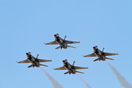 Thunderbirds de la Fuerza A�rea de demostraci�n del equipo
