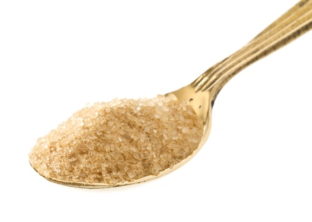 crystalline gold: spoon full of brown sugar