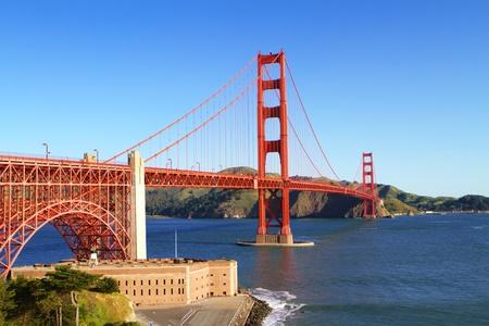 landscape architecture: Golden Gate Stock Photo