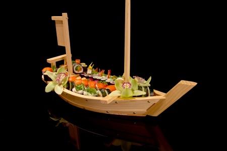 sushi boat Stock Photo - 13520314