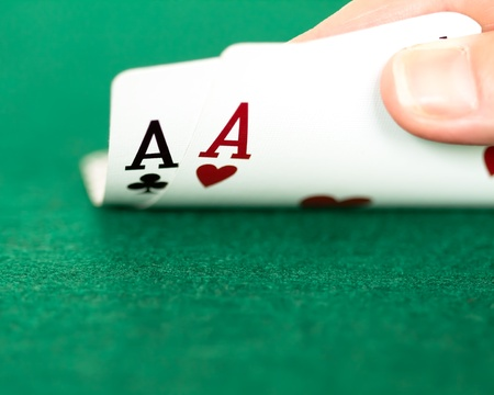 two aces in hand