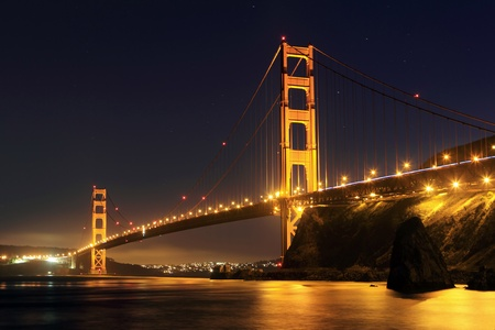 golden: Golden Gate, San Francisco California