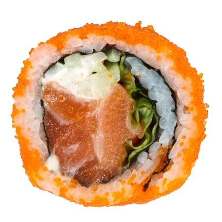 sushi isolated on white background Stok Fotoğraf