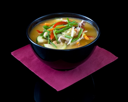 hashi: miso soup