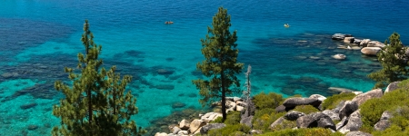Lake Tahoe shorline photo